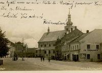 Holešov Hlavní náměstí