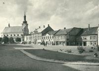 Holešov - náměstí Klementa Gottwalda
