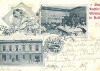 Gruss aus Hachla`s Weinhandlung in Holleschau