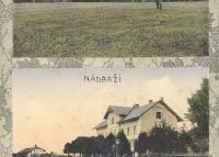 Holešov - Kohnova továrna - Nádraží