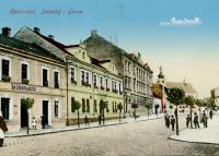 Holleschau - Palacký Gasse.