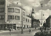 Holešov - náměstí Míru