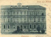 Gruss aus Holleschau - Burgerschule