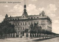 Holešov, Reálné gymnasium