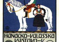 Hanácko-Valašská výstava v Holešově 1914 červenec - srpen