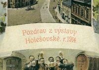 Pozdrav z výstavy Holešovské