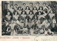 "Ženský odbor \""Sokola\"" v Holešově"