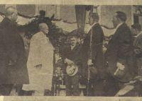 Návštěva prezidenta Masaryka - loučení s Holešovem