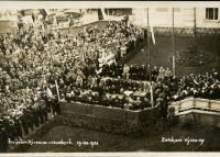 Zahájení výstavy - Živn. prům. výstava v Holešově 19.VII.1931