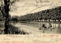 Holešov - Partie v zámeckém parku