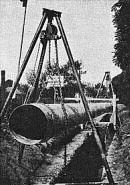 Budování vodovodu