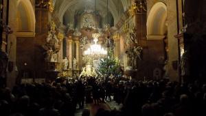25. prosince 2015 – Vánoční koncert v kostele Nanebevzetí P. Marie (3,4 °C)