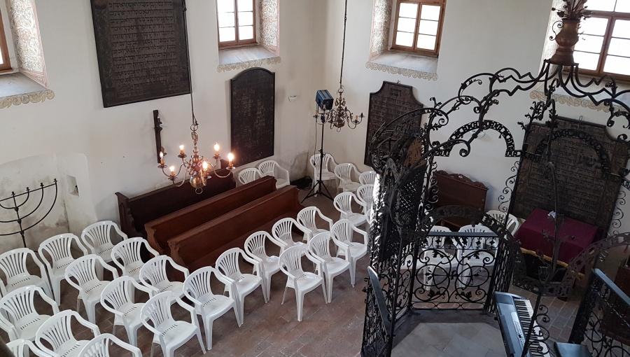 29. července 2016 – Šachova synagoga – festival židovské kultury (21,5 °C)