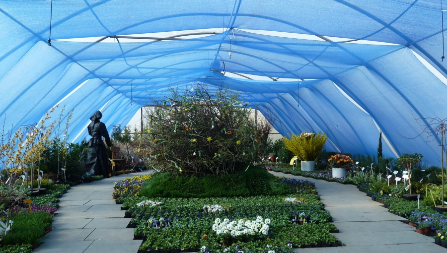 24.-26. března 2017 – Před VELIKONOČNÍ čas v zámeckém zahradnictví Stella (8 °C)