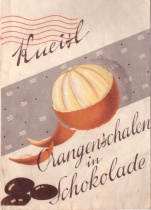 Sáček na Orangenschalen in Schokolade