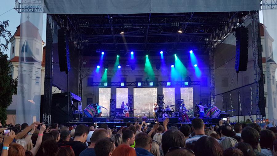 17. června 2016 – Holešovská Regata v zámeckém parku - kapela Kryštof (16,2 °C)