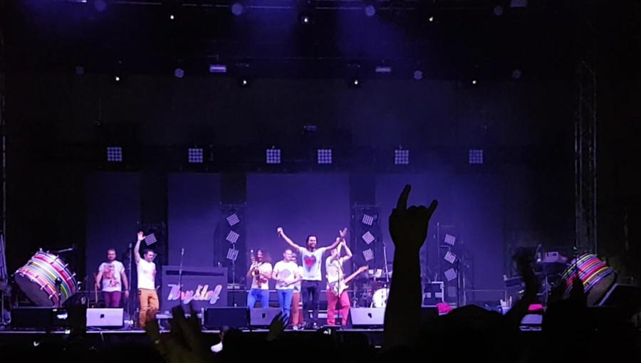17. června 2016 – Holešovská Regata v zámeckém parku - kapela Kryštof (15 °C)