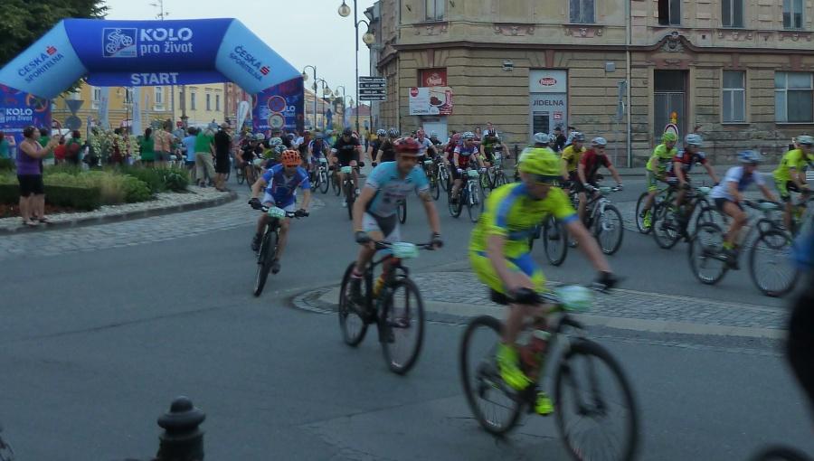 25. června 2016 – start Bikemaratonu Drásal – trasa OBR (23,4 °C)