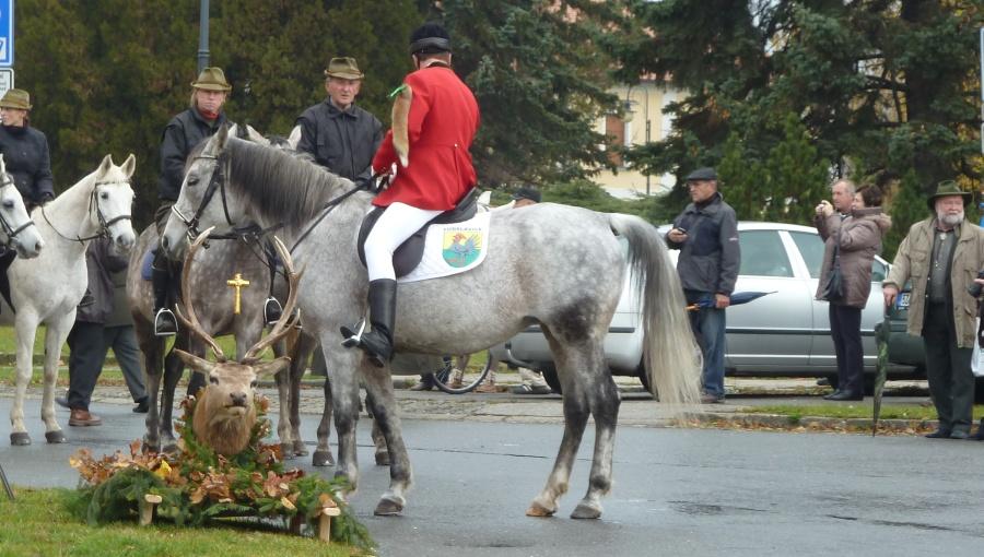 6. listopadu 2016 – Svatohubertský den v Holešově (7,5 °C)