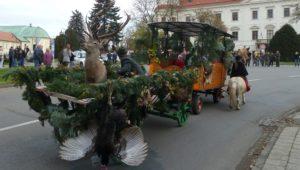 5. listopadu 2017 – Svatohubertský den v Holešově (12 °C)