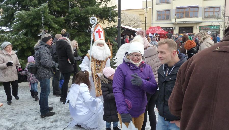 2. prosince 2017 – Vánoční trhy v Holešově (-2,4 °C)