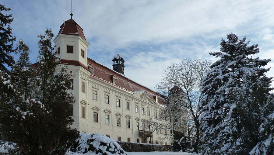 30. prosince 2017 – zámek Holešov (-0,9 °C)