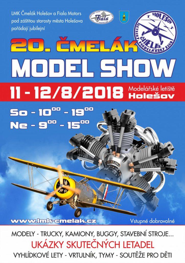 11. a 12. srpen 2018 - 20. ČMELÁK model SHOW (25 °C)